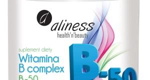 Aliness Witamina B complex B-50 – suplement diety