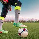 Co znoszą stopy piłkarzy?