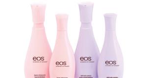 Balsamy EOS do ciała pachnące kwiatami