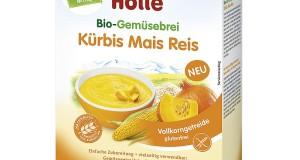 Holle – ekologiczna kaszka warzywna z dynią, kukurydzą i ryżem