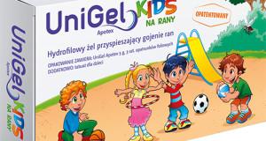 UniGel Kids – nowy sposób na leczenie ran