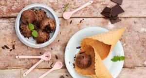 Lody czekoladowo-sernikowe