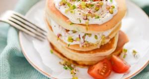 Szczypiorkowe pancakes – czyli naleśniki inaczej