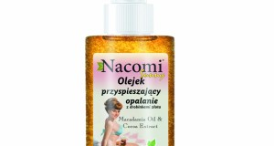 Olejek z drobinkami złota przyspieszający opalanie − Nacomi