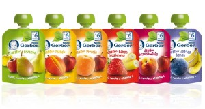 Gerber – tubki pełne owoców
