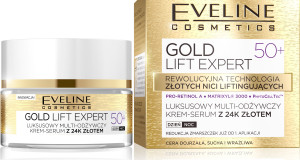 Eveline – odżywczy krem-serum ze złotem
