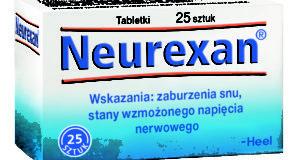 NEUREXAN – lek na zaburzenia snu i stany wzmożonego napięcia nerwowego