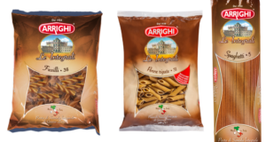 Makarony pełnoziarniste marki Arrighi