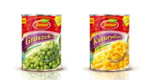 JAMAR: Zielony groszek i słodka kukurydza